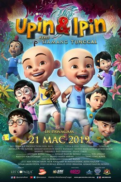 Review Filem Upin Ipin Keris Siamang Tunggal (2019)