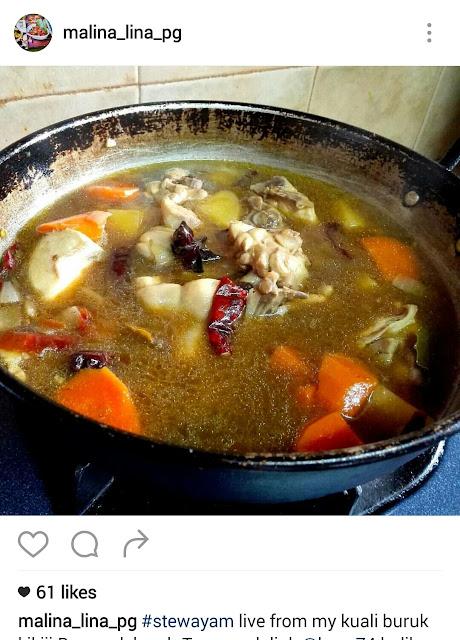 Stew, Stew Ayam, Resepi Stew Ayam, Chicken Stew