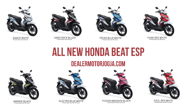 Varian All New Honda BeAT eSP 2016