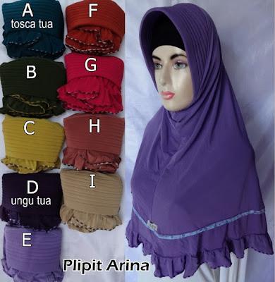 Grosir Jilbab Plipit Arina