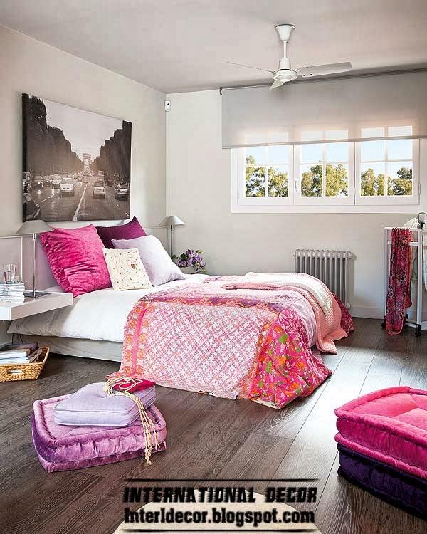 Modern Home Design Ideas Gray: Modern House In Purple And Grey Interior Design