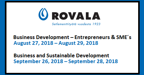 Course - Business and Sustainable Development at the Arctic Circle (Rovala Community College, Rovala Opisto)