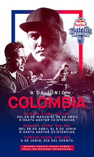 Poster Final Nacional RED BULL Batalla de los Gallos 2018