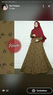 baju muslim wanita model terbaru
