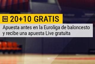 bwin apuesta gratuita Live euroliga 23 diciembre
