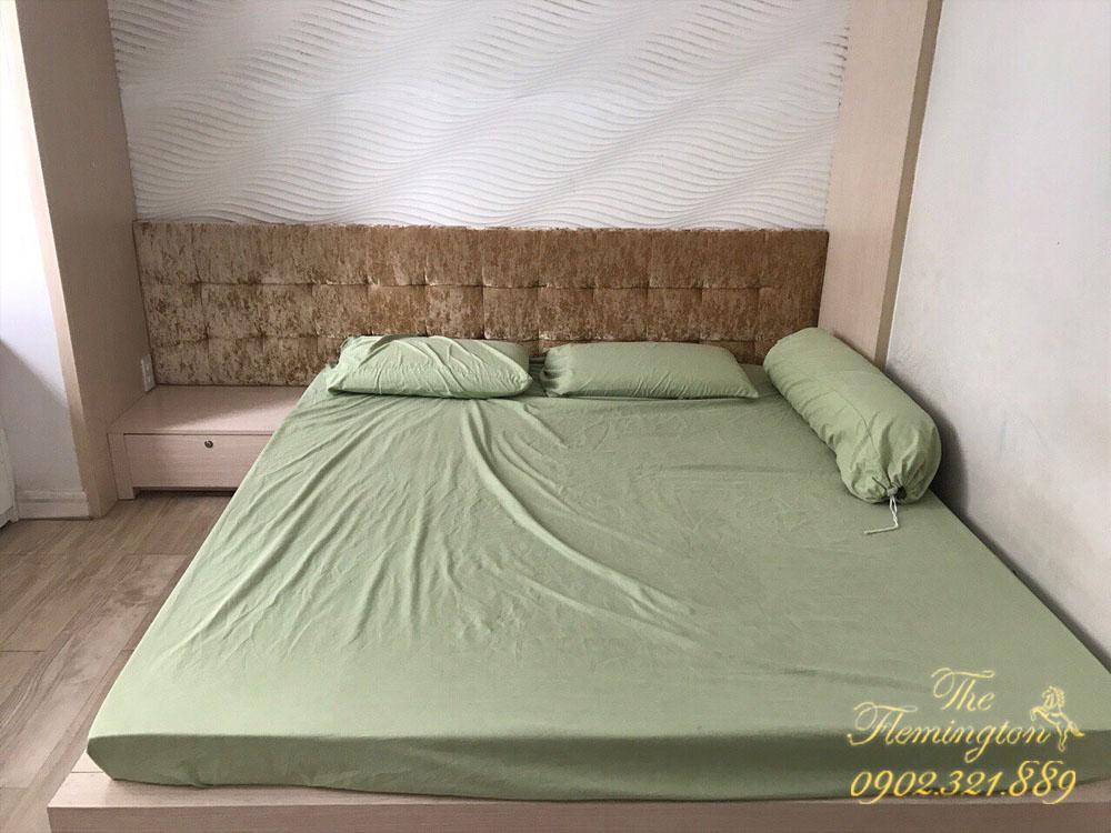 Căn hộ quận 11 The Flemington 87m2 cho thuê - giường ngủ