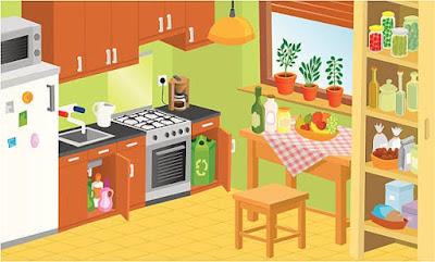 Vocabulaire illustré de la cuisine - apprendre le français