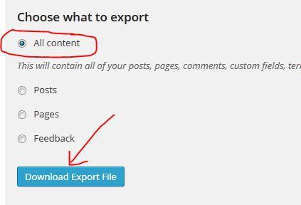 Cara Memindahkan Isi Blog Wordpress ke Blogspot