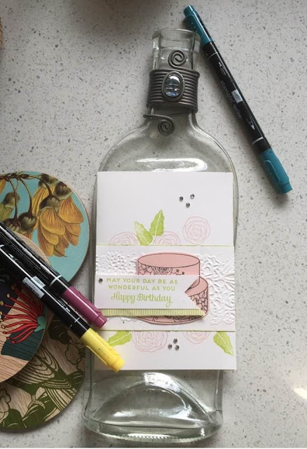 Sweet Cake Soiree zena kennedy independent stampin up demonstrator