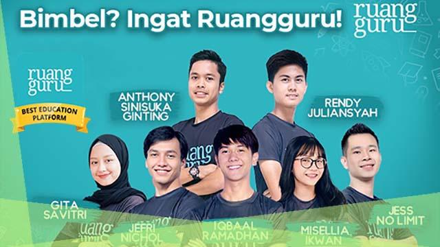 Ruang Guru, Aplikasi Bimbel Online No. 1 Di Indonesia