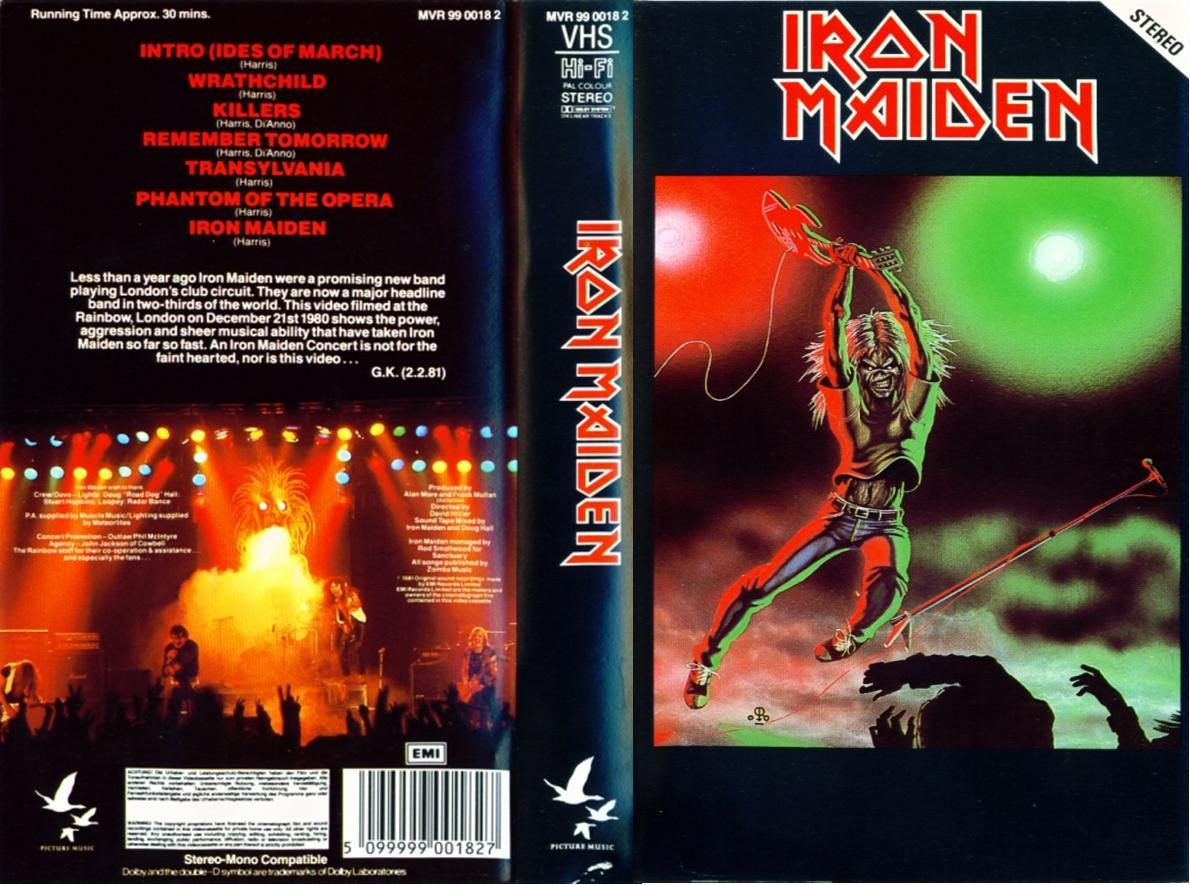 Iron Maiden - Video Pieces