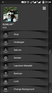 BBM MOD Dark Shadow v3.0.0.18 APK