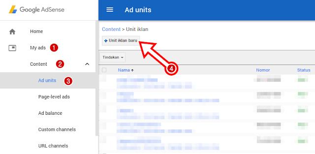 Cara Memasang Iklan In-Feed Ads Google Adsense Diantara Postingan