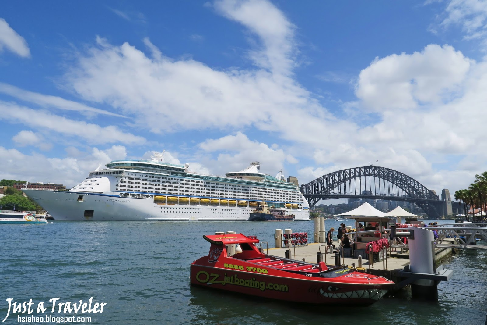 雪梨-景點-推薦-港灣大橋-Harbour-Bridge-旅遊-自由行-澳洲-Sydney-Tourist-Attraction-Travel-Australia