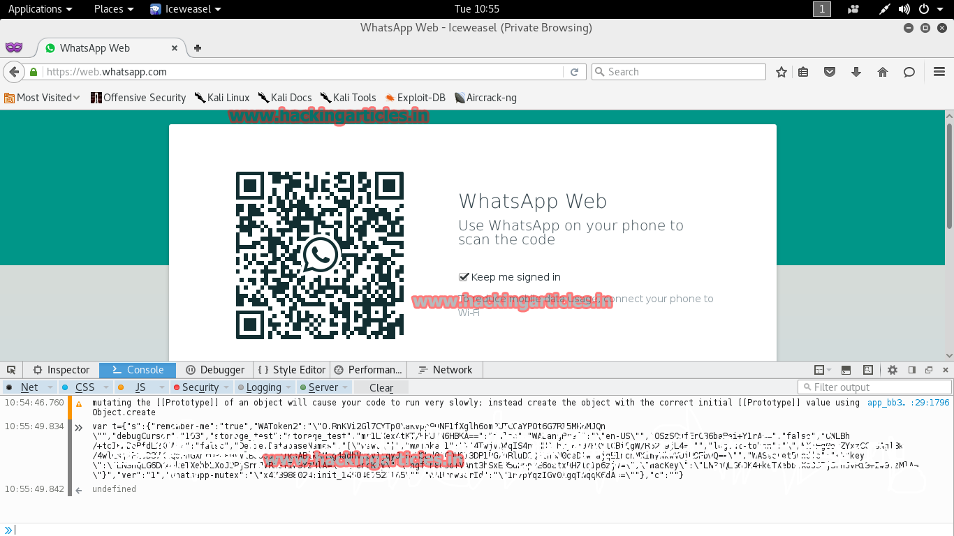 Hack anyone's Whatsapp through QR code (Working)