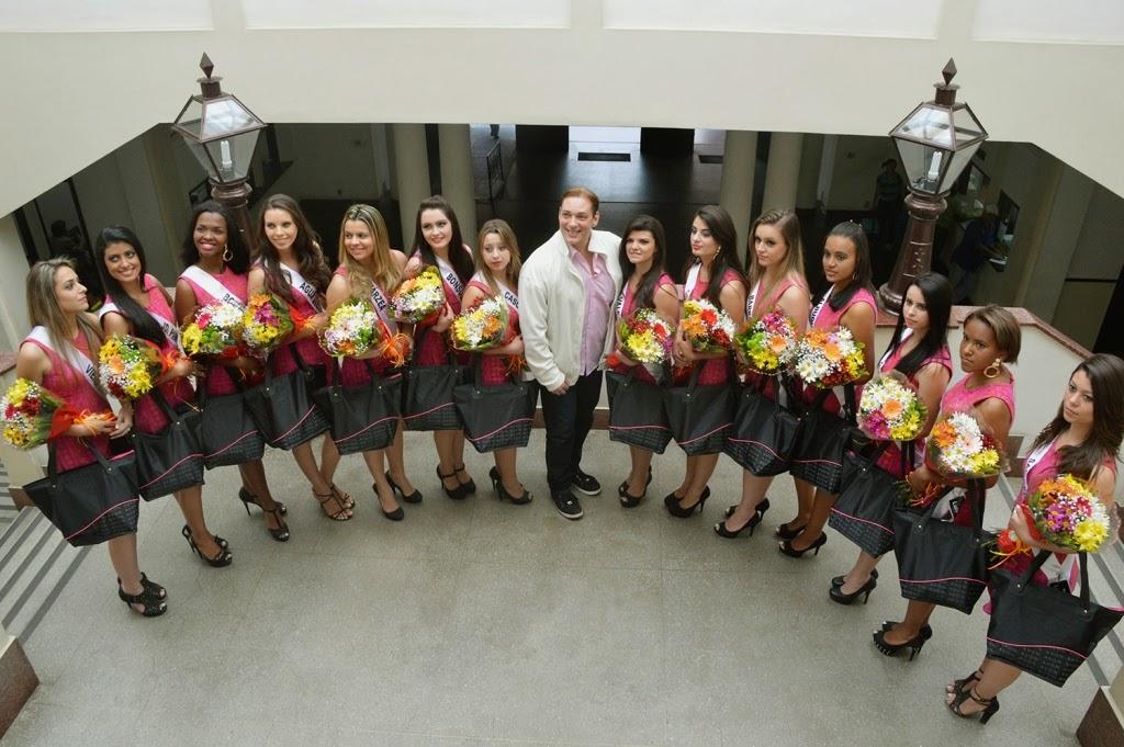 Candidatas a Miss Teresópolis visitam Prefeitura- O Miss Teresópolis Oficial 2015 acontece dia 20/09/14