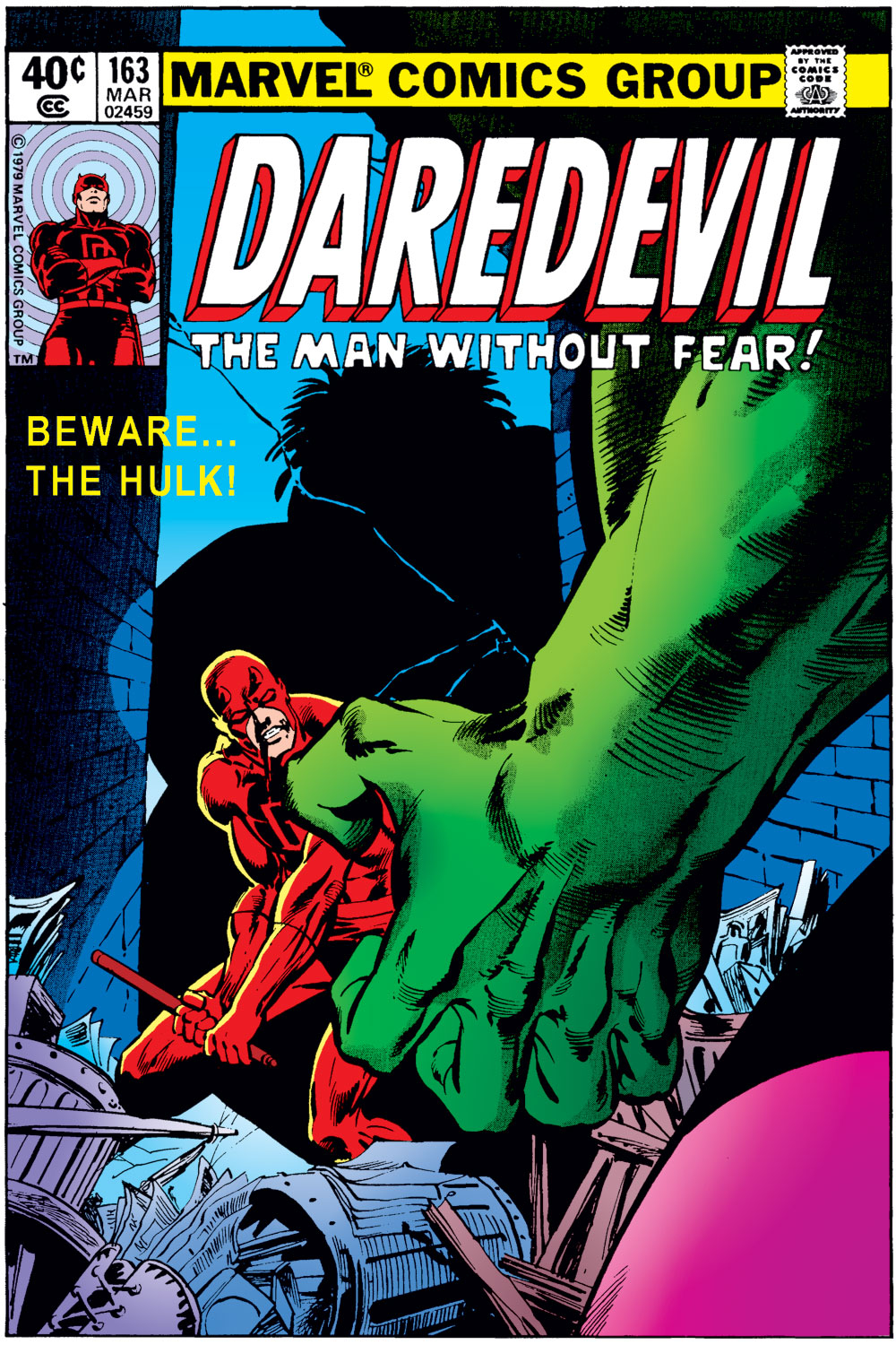 Daredevil (1963-1998) issue 163 - Page 1