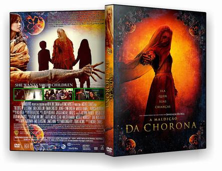 CAPA DVD – A Maldição Da Chorona – TS CINEMA – ISO