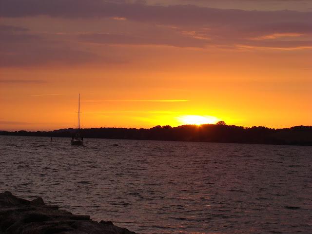 Zachód słońca w Gager