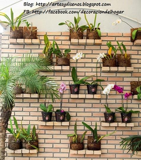 Ideas Para Decorar Un Jardin Vertical Decoracion Del Hogar - Ideas-decoracion-jardin