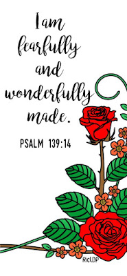 I am fearfully wonderfully made