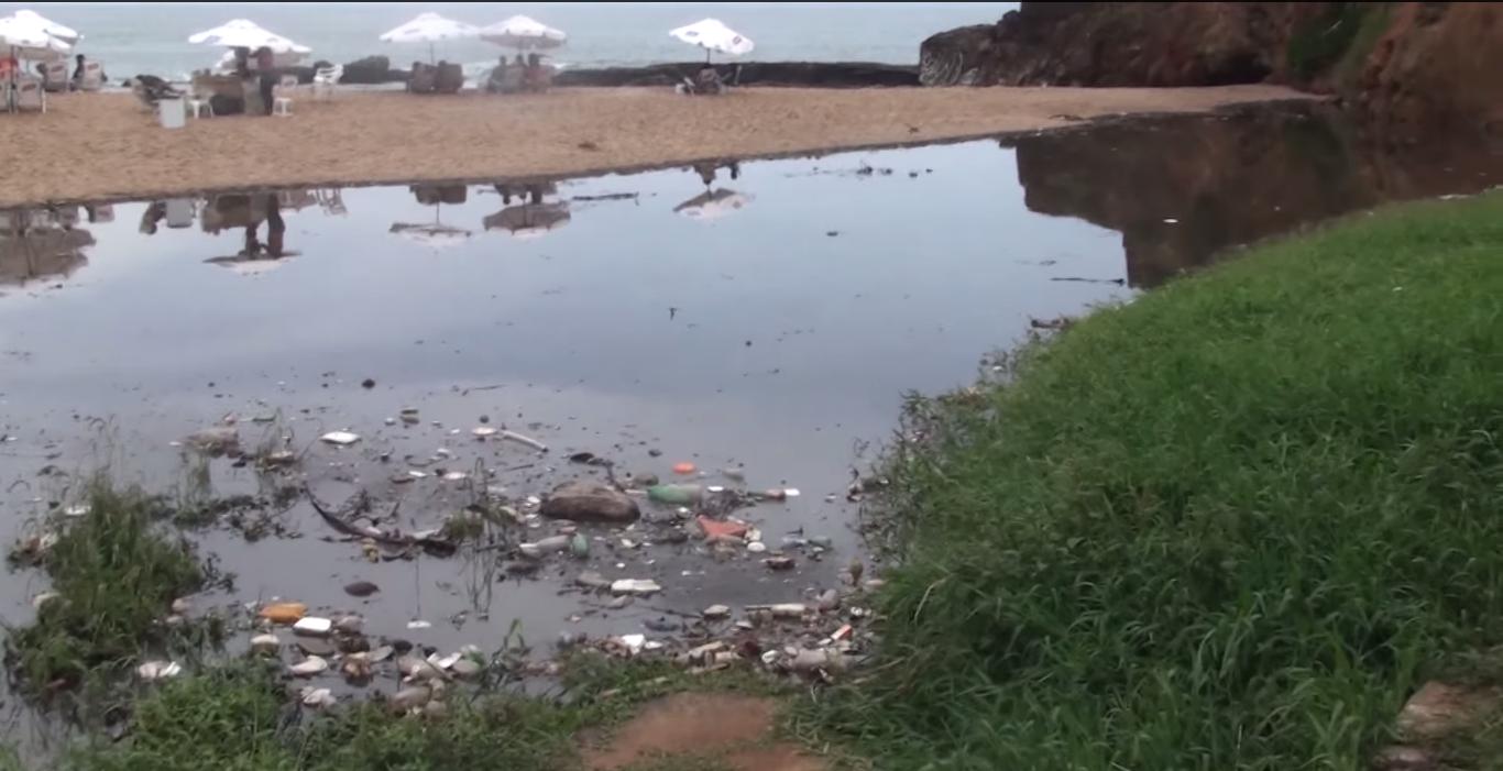 Reunião entre moradores, Embasa e Inema sobre a Praia da Paciência