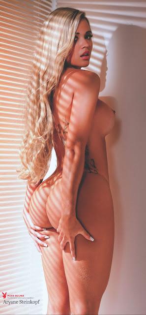 Fotos de Aryane Steinkopf nua pelada na Playboy Croácia