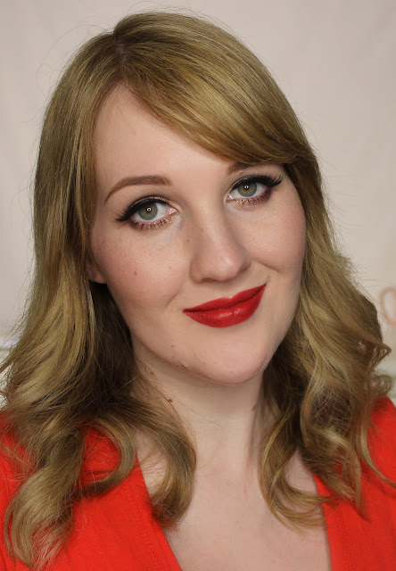 L'Oreal Color Riche Collection Exclusive Lipsticks - Eva's Red Swatches & Review