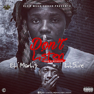Eli MarliQ x Lil5ive - Don't Listen (prod.by Mr.Moore)