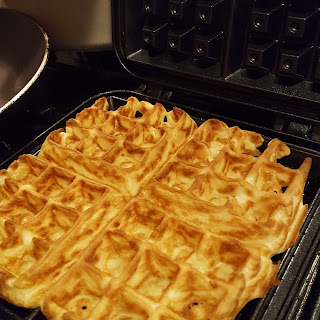 Choose the right waffle iron makes a huge difference to homemade waffles. I love this stove-top waffle iron which is dishwasher safe and easy to store.