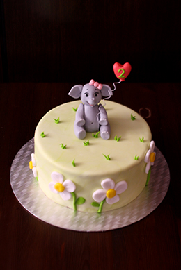 Madchentorte Zum 2 Geburtstag Christina S Catchy Cakes