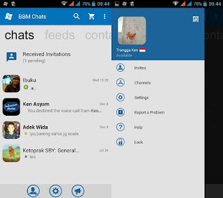 BBM Mod Style Windows Phone Base 3.2.5.12 Apk WP UPDATE Baru Februari 2017