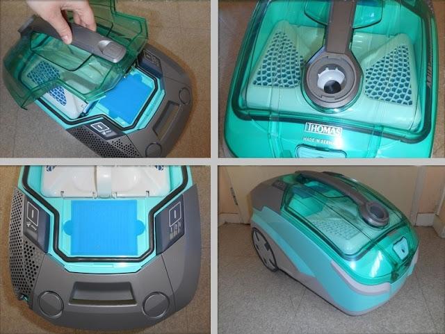 un aspirateur qui lave et sèche