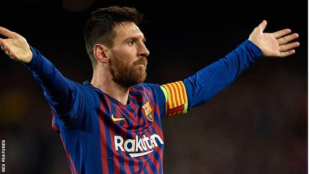 Champions League: Messi double as Barcelona defeat Liverpool