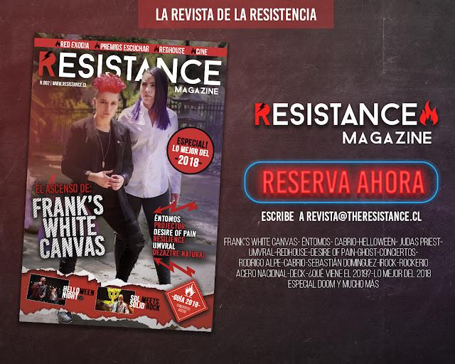Reserva ahora el segundo número de Resistance Magazine