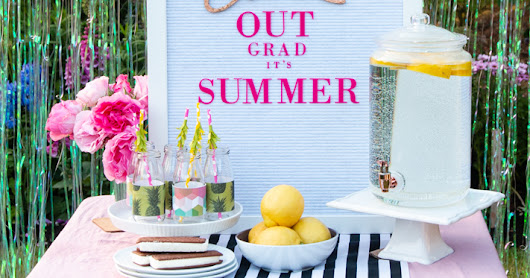 Chill Out it is Summer Graduation Party