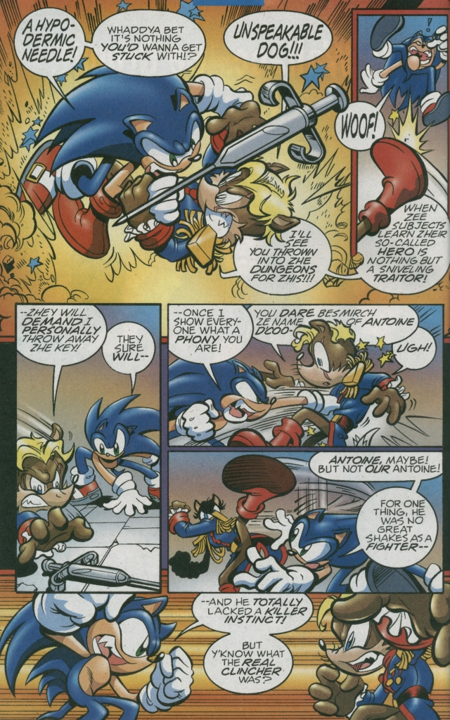Read online Sonic The Hedgehog comic -  Issue #156 - 20