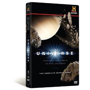 The Universe Season 3 Set of Universe DVDs