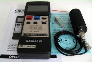Darmatek Jual  Lutron VB-8202 Vibration Meter