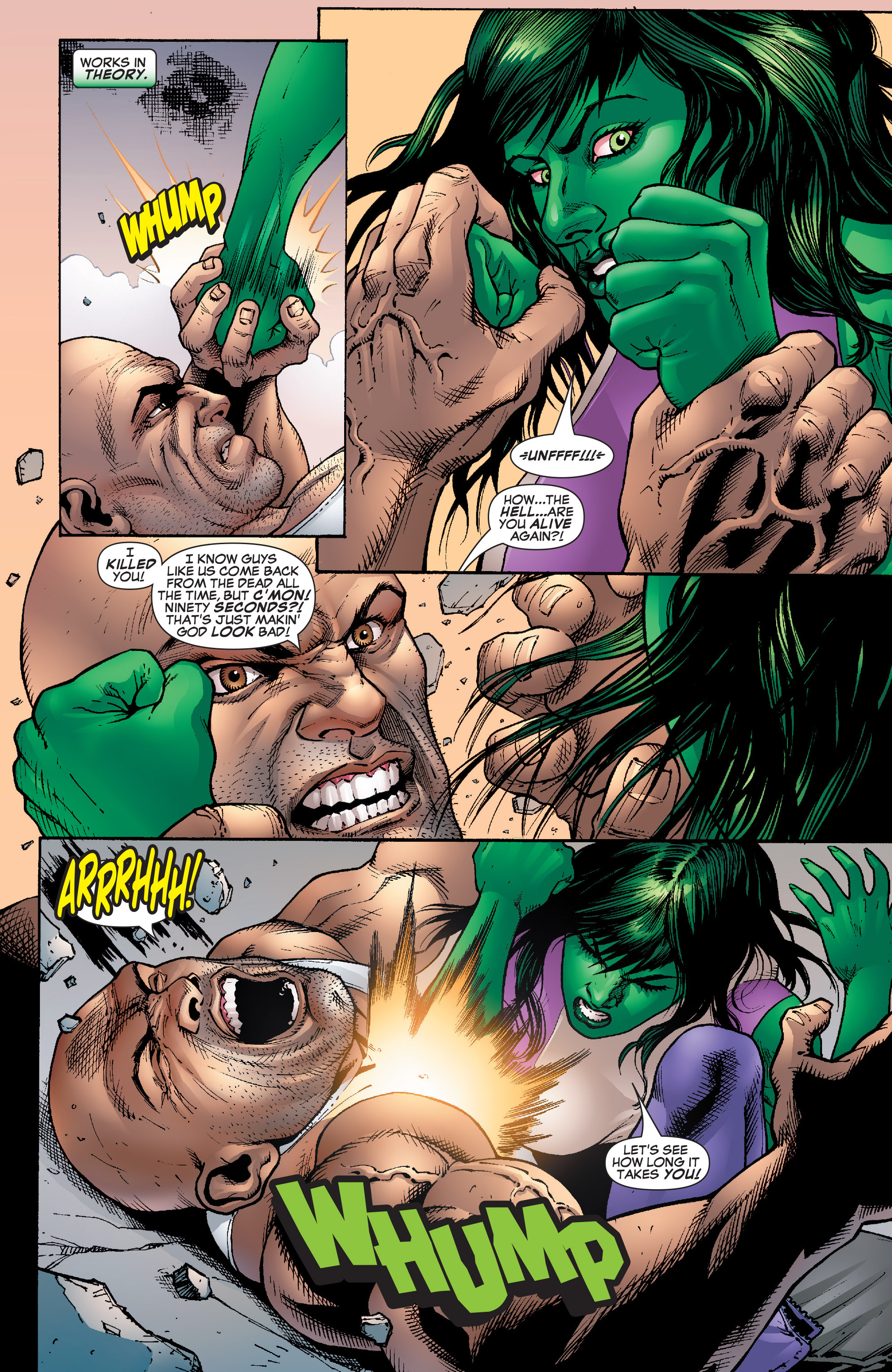 Read online She-Hulk (2005) comic -  Issue #22 - 19