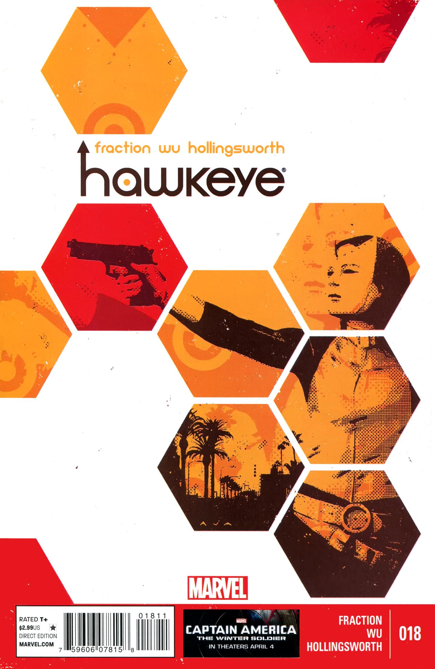 Hawkeye (2012) 18 Page 1