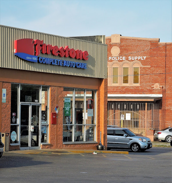 Firestone Complete Auto Care - Central Police Supply - Washington Ave at Houston Ave