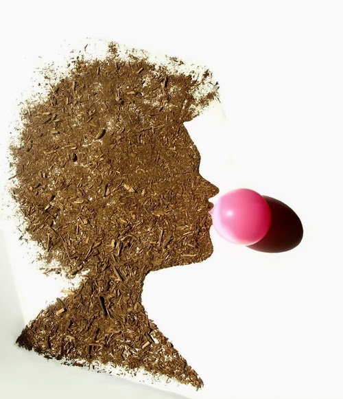 07-Woman-with-Bubblegum-Photographer-Illustrator-Sarah-Rosado-Dirt-Art-Dirty-Little-Secrets-www-designstack-co