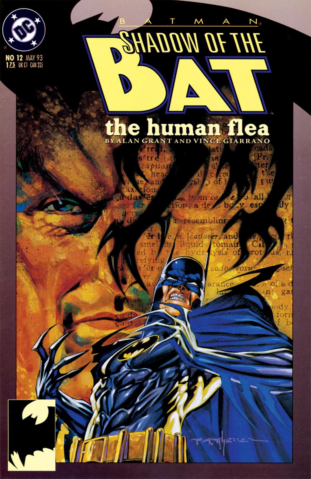 Batman: Shadow of the Bat 12 Page 1
