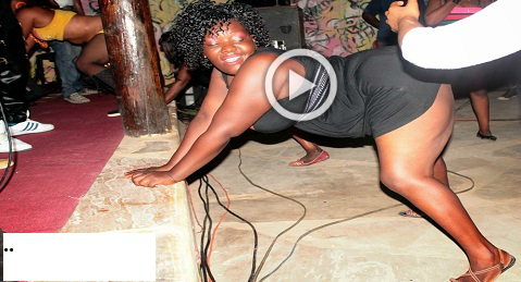 SHAMEFUL ACT!! See What This Sugar Mummy is Doing In Public