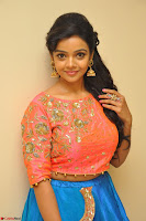 Nithya Shetty in Orange Choli at Kalamandir Foundation 7th anniversary Celebrations ~  Actress Galleries 024.JPG