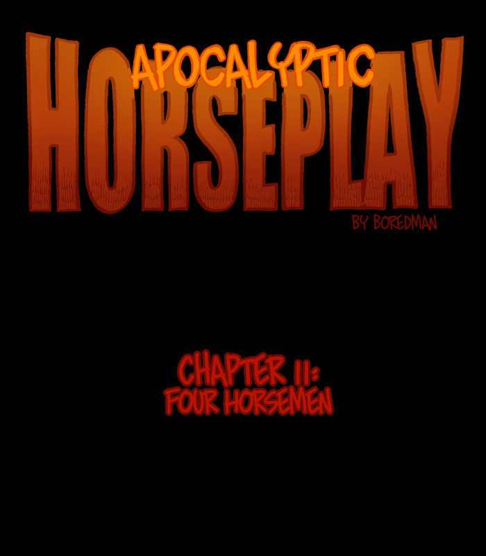Apocalyptic Horseplay - Chapter 18