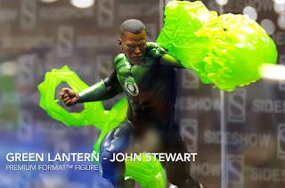 SDCC 2018 Sideshow DC Comics Green Lantern John Stewart Premium Format Figure 002