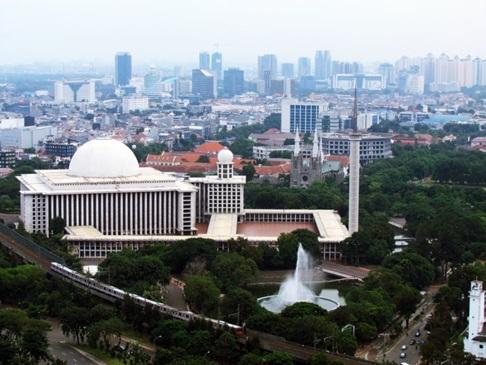 Rindu Masjid Masjid Istiqlal Jakarta