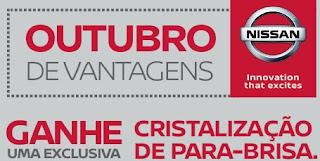 Cadastrar Promoção Outubro Vantagens Nissan 2018 Ganhe Cristalização Para-Brisa